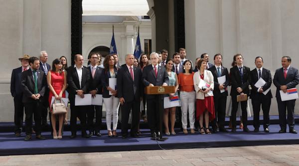 Presidente Piñera presentó programa para mejorar la gestión de recursos en el Gobierno