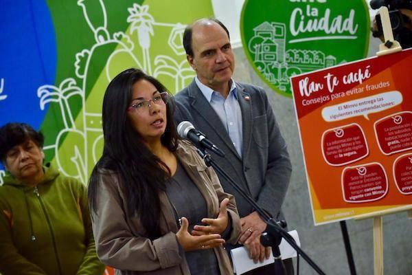 Ministro de Vivienda lanza campaña para evitar estafas con subsidios habitacionales