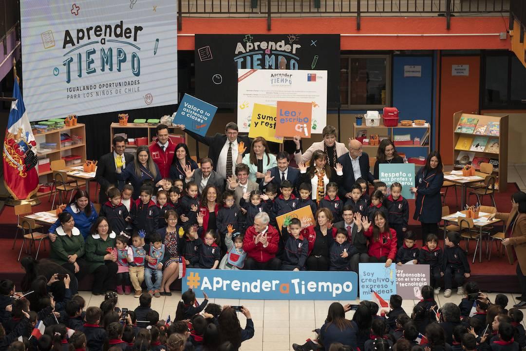 Presidente Piñera presenta programa para fortalecer la educación básica e igualar las oportunidades de los alumnos