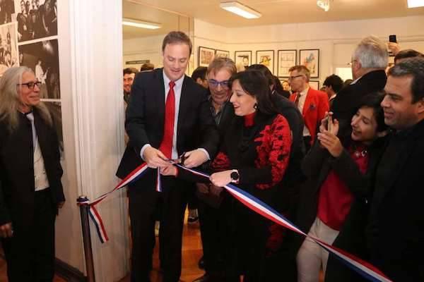Ministro Felipe Ward inauguró Museo de la Música Chilena en pleno centro de Santiago