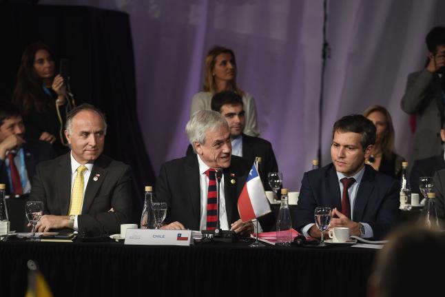 """Presidente Piñera impulsa mayor integración entre Chile y Mercosur: """"Vivimos una oportunidad única para superar los frenos del pasado"""""""