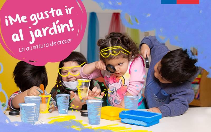 Ya está abierto el proceso de inscripción para los jardines infantiles de la JUNJI