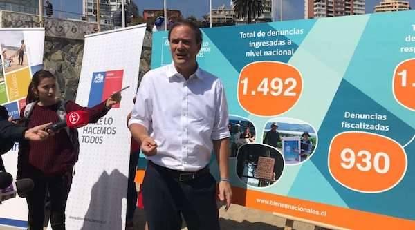 Balance de temporada de playas: Bienes Nacionales recibe 1.492 denuncias de problemas de acceso y anuncia catastro y proyecto de ley