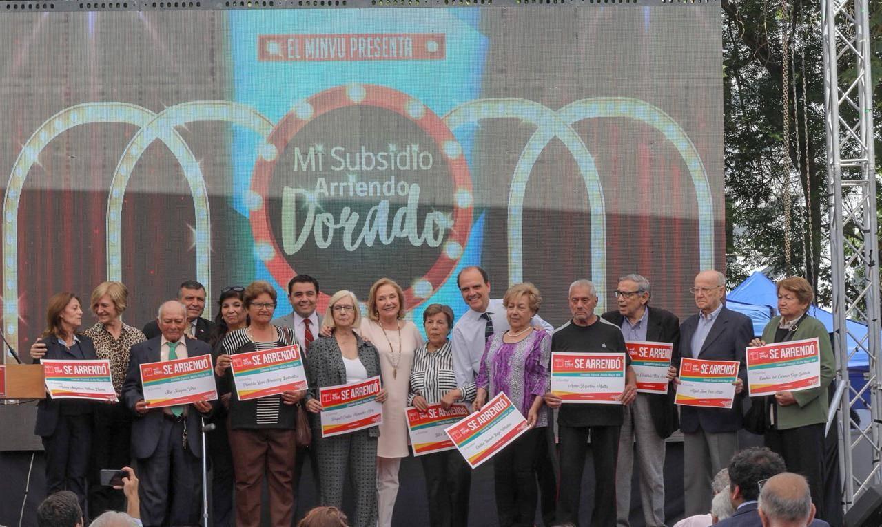 Más de mil adultos mayores en todo Chile fueron seleccionados a través del llamado especial del Subsidio de Arriendo
