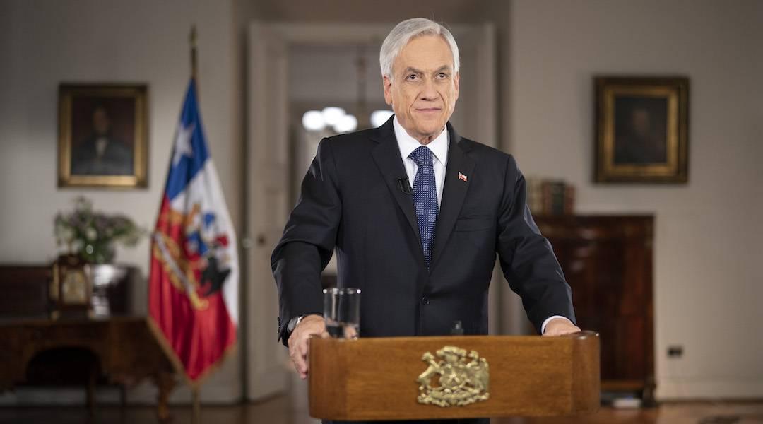 Presidente Piñera presenta en cadena nacional la Ley de Presupuesto 2020