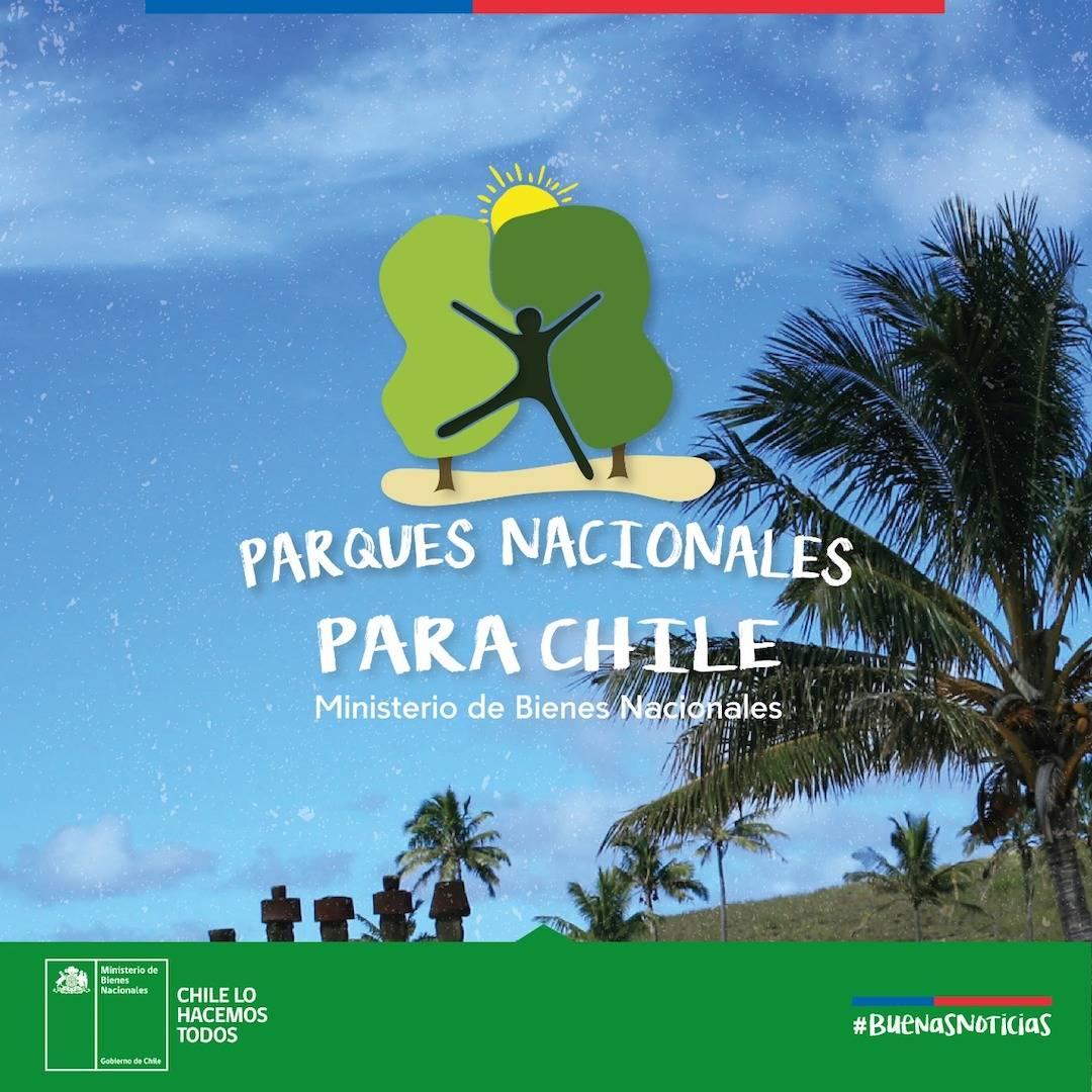 """Ministerio de Bienes Nacionales lanza la agenda """"Parques Nacionales para Chile"""""""
