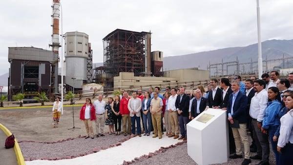 Ministro de Energía y Enel encabezan cierre de la Central Termoeléctrica Tarapacá y que forma parte del plan de descarbonización de la matriz eléctrica nacional