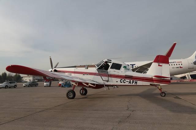 Chile aporta 5 aviones AirTractor al combate de incendios forestales en la Amazonía