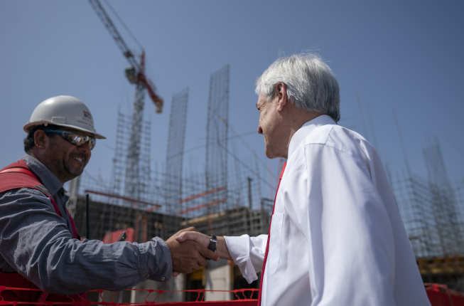 Presidente Piñera anuncia inyección de US$ 475 millones en vivienda e infraestructura urbana para impulsar la reactivación económica