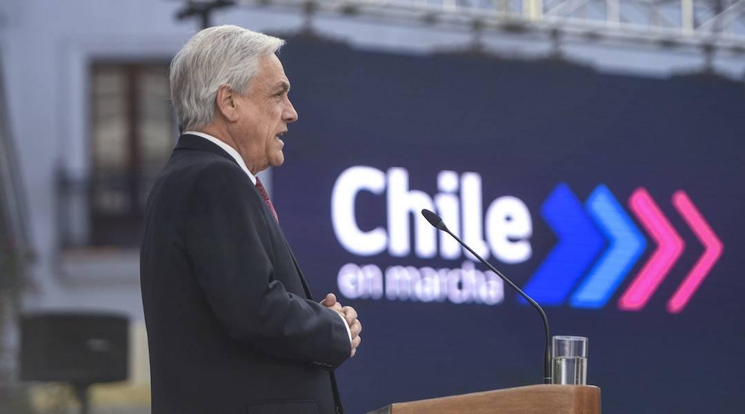 """Presidente Piñera promulgó Ley que Moderniza la Legislación Bancaria: """"El buen desarrollo del sistema financiero es una pieza fundamental para el desarrollo del país"""""""
