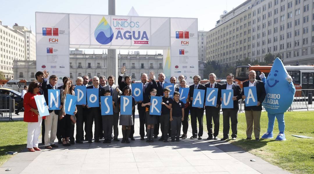 Día Mundial del Agua: ministro Moreno destacó el trabajo de Compromiso País en favor de 1 millón 400 mil personas sin acceso al agua potable