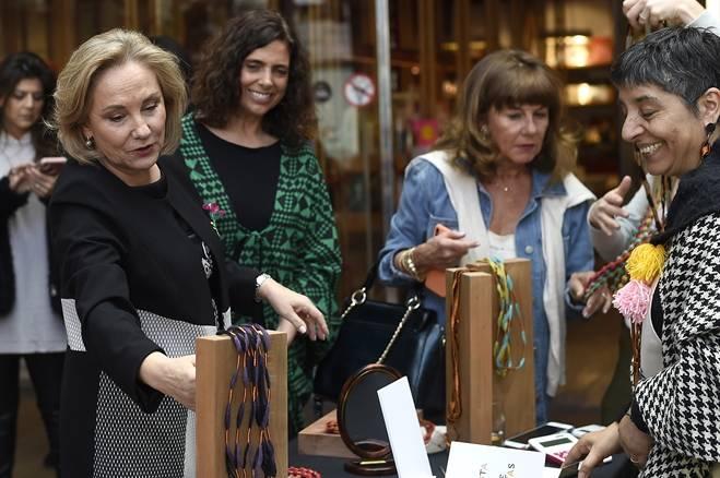 """Primera Dama inaugura primera versión de la """"Fiesta de las Artesanías"""" con la exposición de productos de más de 60 artesanos del país"""
