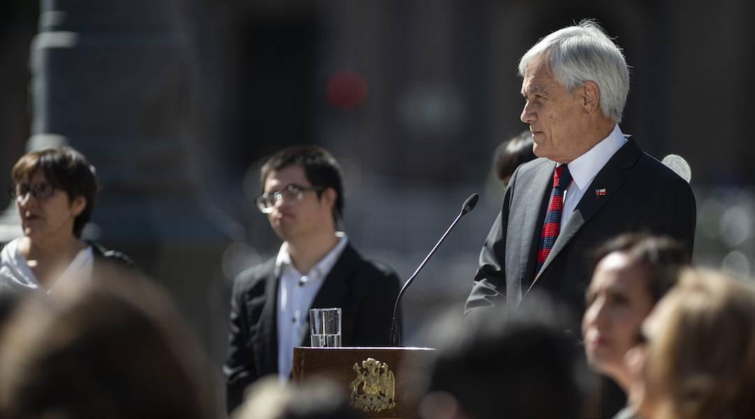 Presidente Piñera conmemora los 70 años de la Declaración Universal de los Derechos Humanos