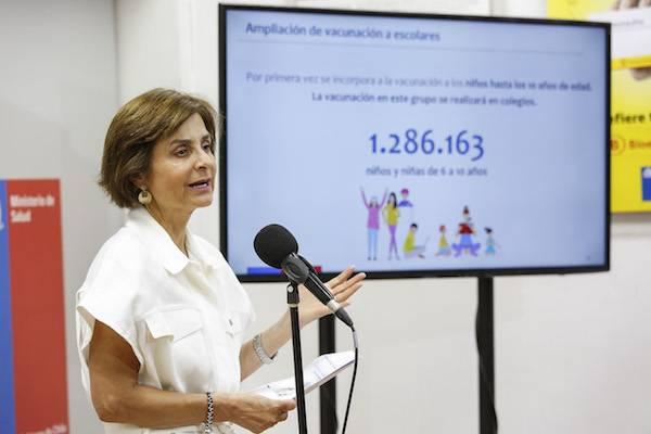 Ministerio de Salud amplía vacunación contra la influenza a niños hasta 10 años y todas las embarazadas