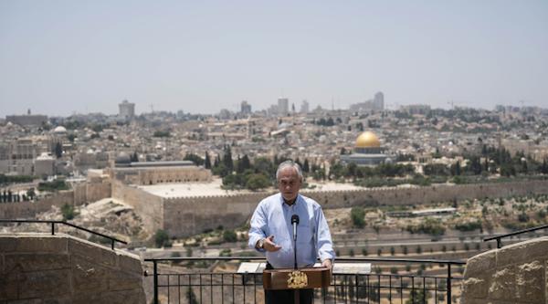 """Presidente Piñera inicia visita y destaca relación cercana con Israel y Palestina: """"Vamos a lograr acuerdos muy importantes para Chile y los chilenos"""""""