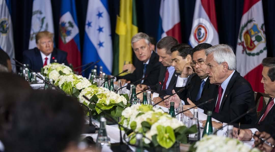 """Presidente Piñera destaca importancia de vía pacífica para solucionar crisis en Venezuela: """"Necesitamos terminar con este régimen"""""""