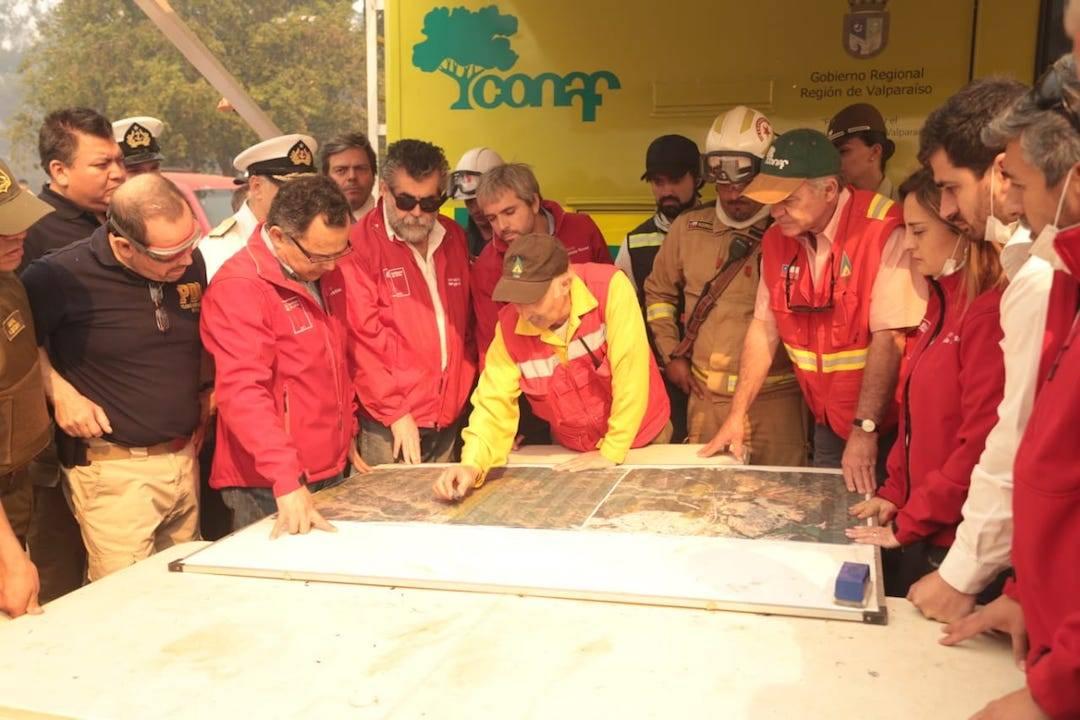 Gobierno hace balance de la situación actual de los incendios forestales y se anuncian nuevos recursos que apoyarán el combate al fuego