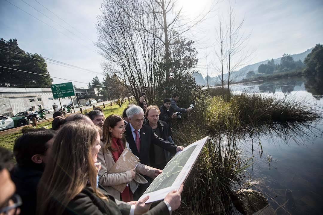 Presidente Piñera anunció el Plan Nacional de Protección de Humedales