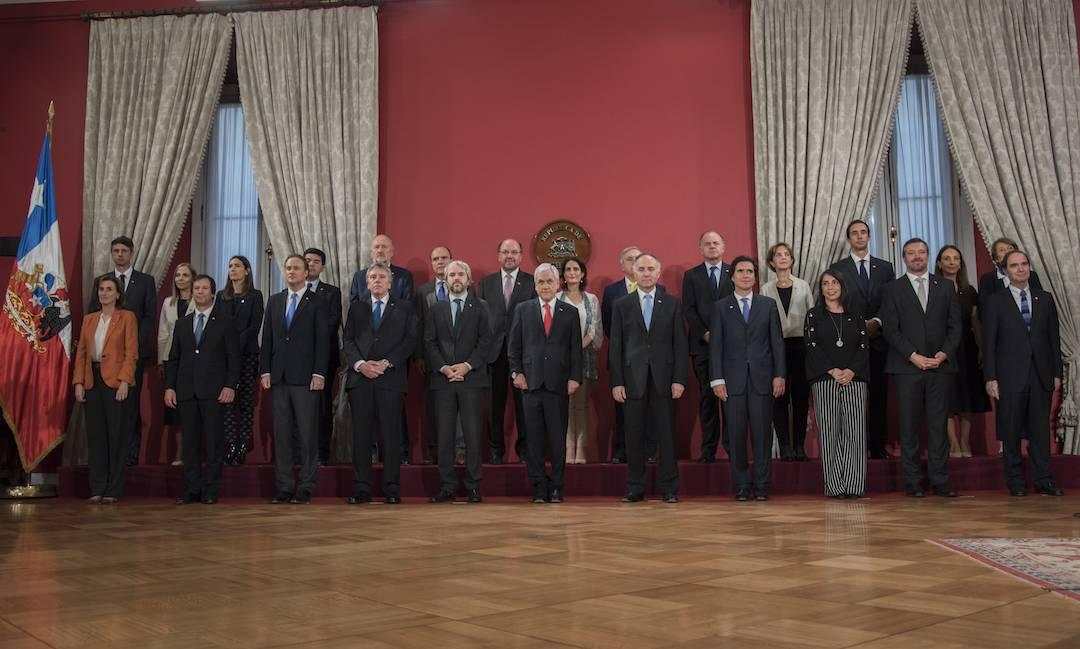 Presidente Piñera realiza cambio de gabinete en Interior, Hacienda, Segpres, Segegob, Economía, Trabajo, Bienes Nacionales y Deporte
