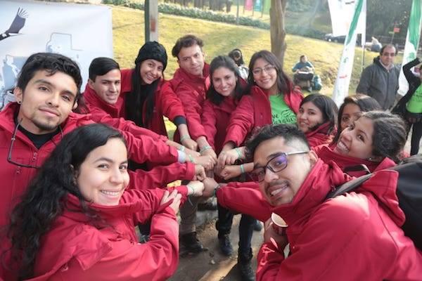 Jóvenes iniciaron trabajos voluntarios en 12 áreas silvestres protegidas