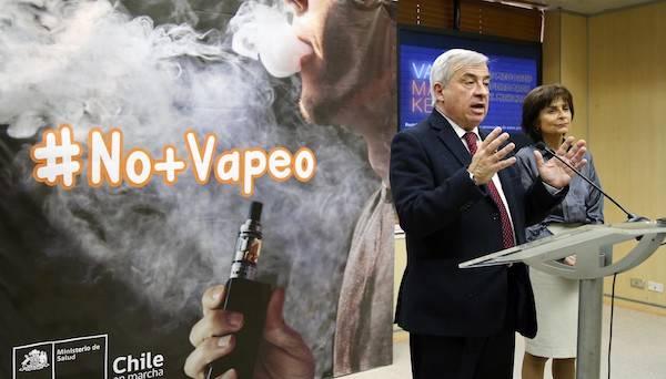 Ministerio de Salud envía proyecto de ley que regula vapeadores y cigarrillos electrónicos