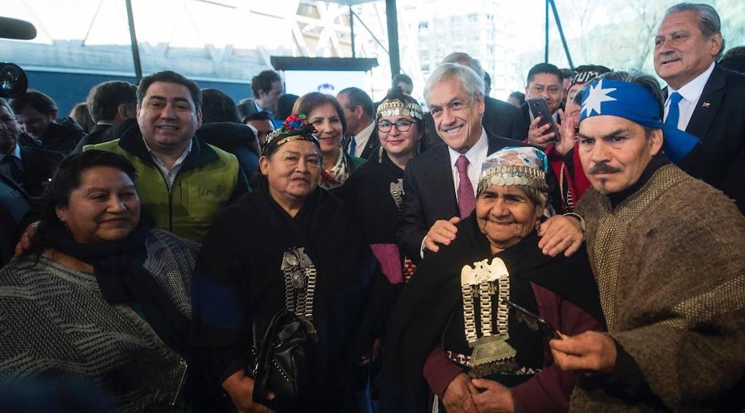 Presidente Piñera presenta el Acuerdo Nacional por el Desarrollo y la Paz en La Araucanía