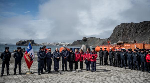 """Presidente Piñera presentó plan para modernizar la Base Frei: """"La Antártica es el continente del futuro"""""""