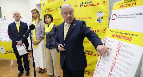 Gobierno envía proyecto que faculta a Cenabast para intermediar compra de medicamentos para farmacias independientes