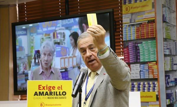 """Ministerio de Salud presenta campaña """"Exige el Amarillo"""" para promover uso de remedios bioequivalentes"""