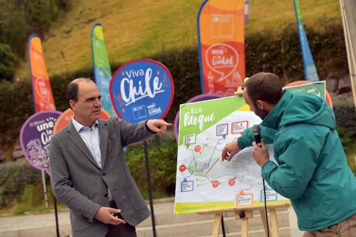 """Ministro Cristián Monckeberg presenta proyectos que transformarán el Parquemet en un """"Ecoparque"""""""
