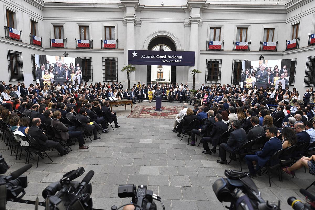 Acuerdo constitucional plebiscito 2020